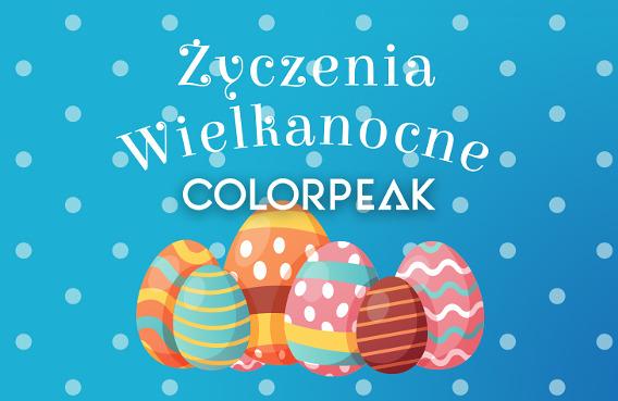 Życzenia Wielkanocne od Colorpeak