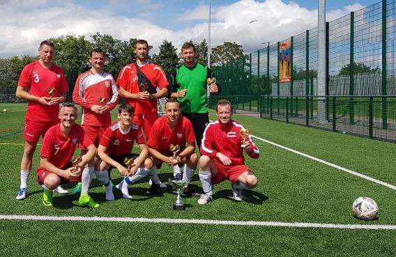 Polskie Orły wygrywają turniej piłkarski w Darlington!