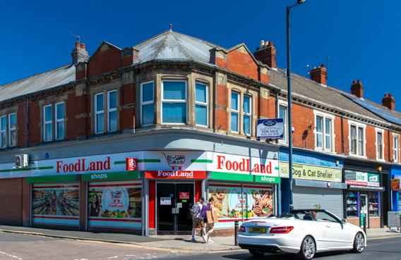 FoodLand - polski sklep w Wallsend k. Newcastle