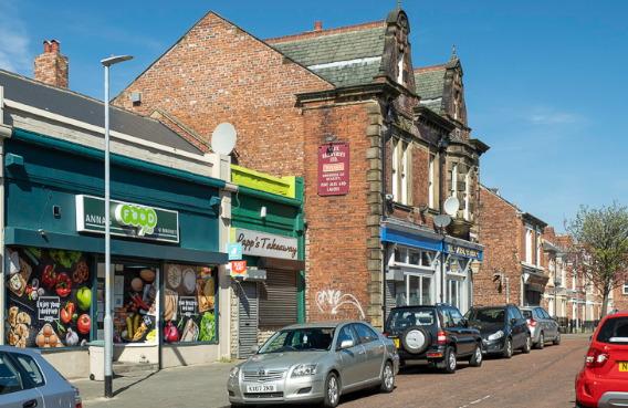 Anna's Mini Market - polski sklep w Gateshead / Bensham